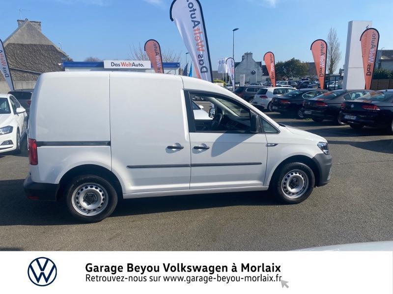 Photo 3 de l'offre de VOLKSWAGEN Caddy Van 2.0 TDI 75ch Business Line à 13490€ chez Garage Beyou- Volkswagen Morlaix