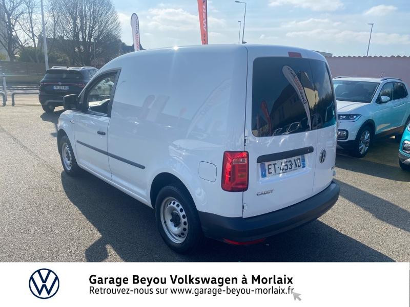 Photo 2 de l'offre de VOLKSWAGEN Caddy Van 2.0 TDI 75ch Business Line à 13490€ chez Garage Beyou- Volkswagen Morlaix