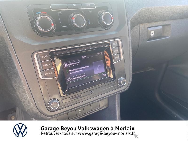 Photo 7 de l'offre de VOLKSWAGEN Caddy Van 2.0 TDI 75ch Business Line à 13490€ chez Garage Beyou- Volkswagen Morlaix