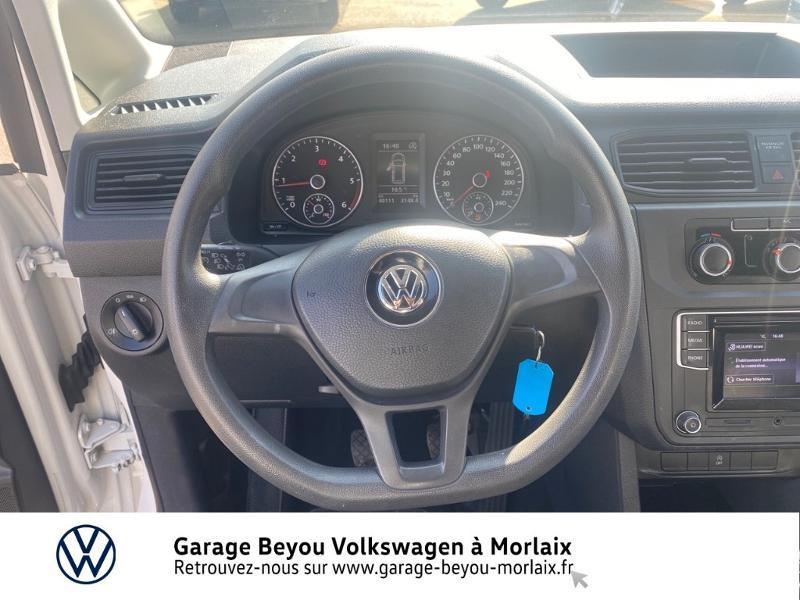 Photo 6 de l'offre de VOLKSWAGEN Caddy Van 2.0 TDI 75ch Business Line à 13490€ chez Garage Beyou- Volkswagen Morlaix
