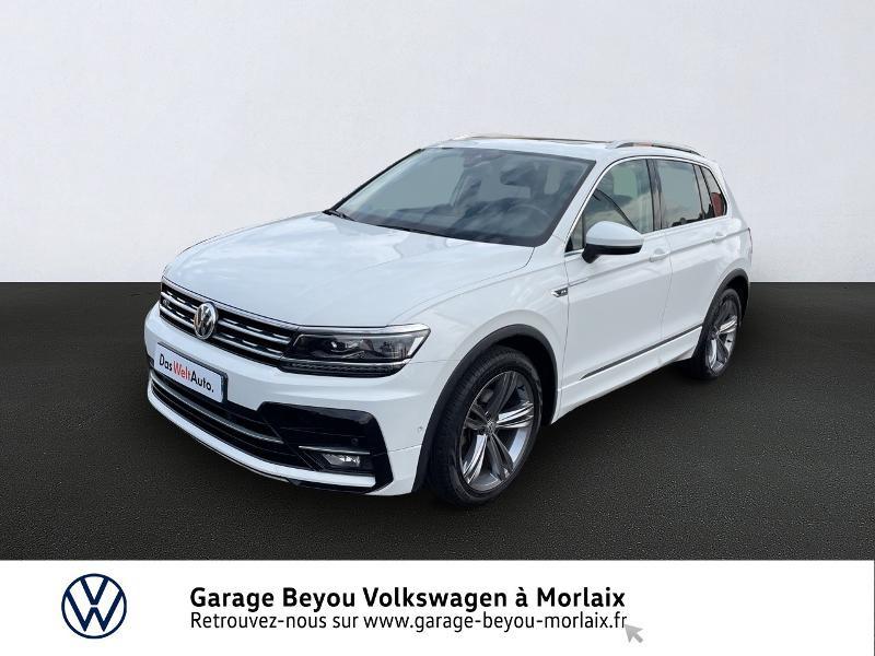 Volkswagen Tiguan 2.0 TDI 150ch Carat Euro6d-T Diesel BLANC PUR Occasion à vendre