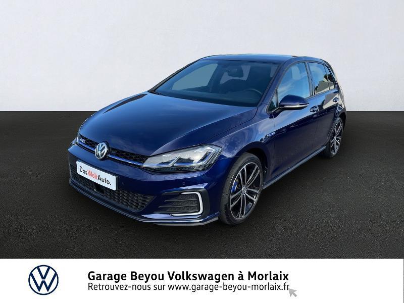 Volkswagen Golf 1.4 TSI 204ch Hybride Rechargeable GTE DSG6 Euro6d-T 5p Hybride BLEU ATLANTIQUE META Occasion à vendre