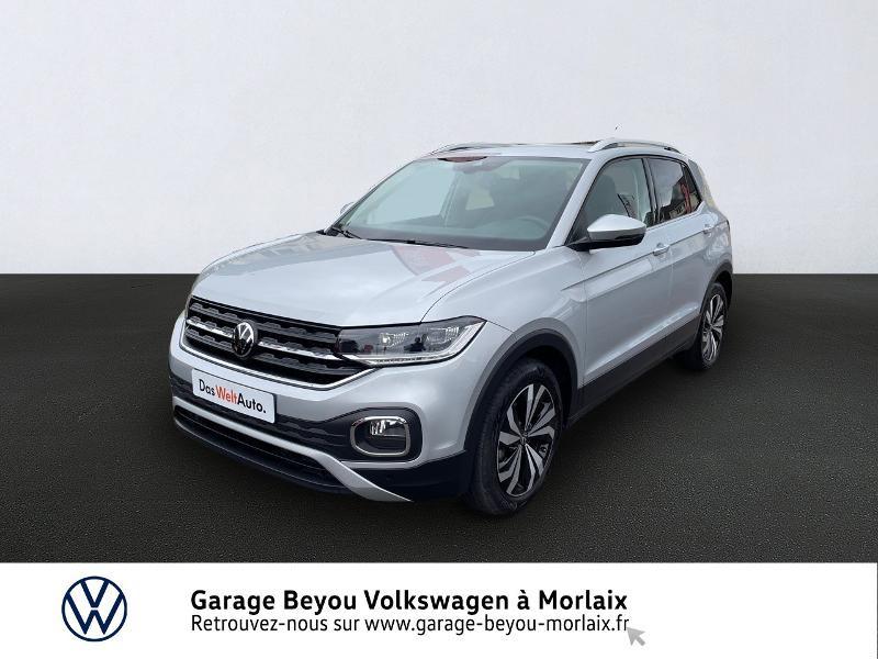 Volkswagen T-Cross 1.0 TSI 110ch Carat DSG7 Essence REFLET D'ARGENT META Occasion à vendre