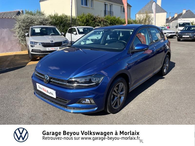 Volkswagen Polo 1.0 TSI 95ch Carat DSG7 Euro6d-T Essence BLEU RECIF METAL Occasion à vendre