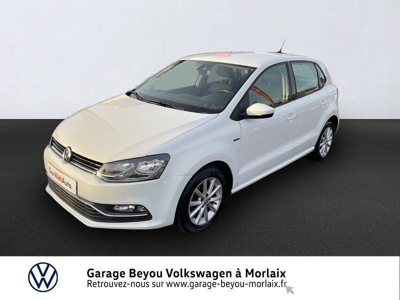 Volkswagen Polo 1.2 TSI 90ch BlueMotion Technology Lounge 5p Essence BLANC PUR Occasion à vendre