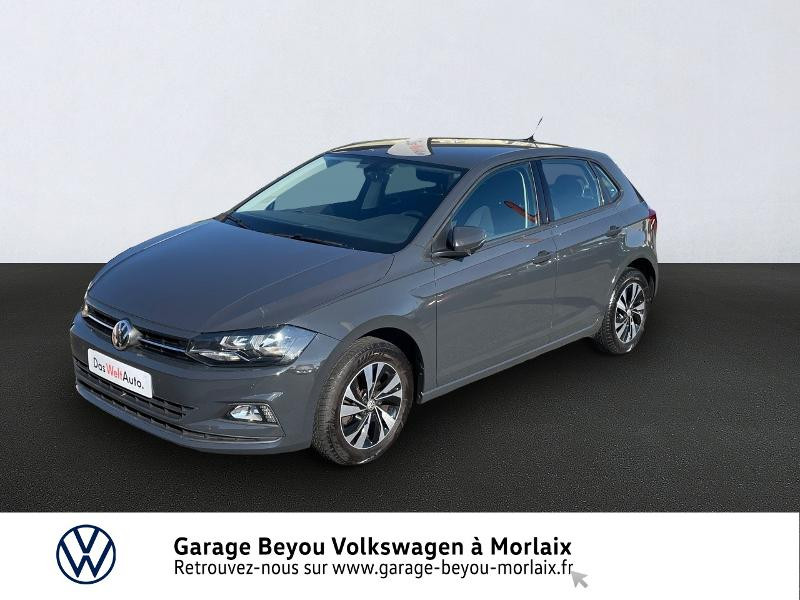 Volkswagen Polo 1.6 TDI 95ch Confortline Business Diesel GRIS URANO Occasion à vendre
