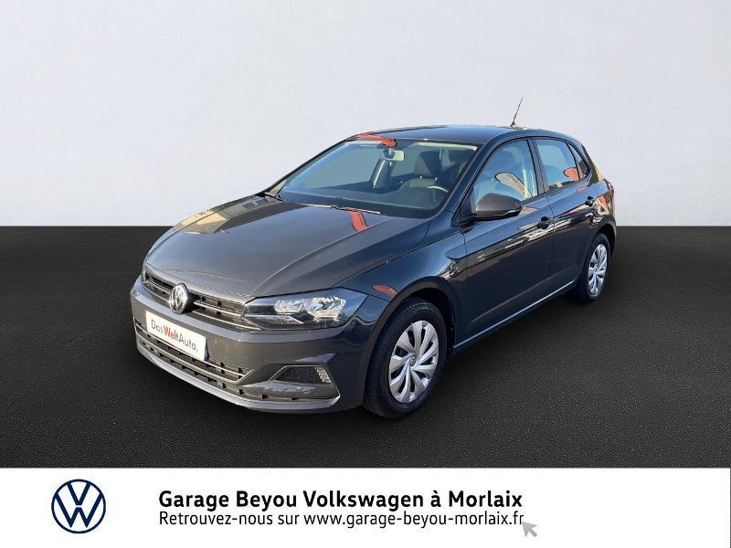 Volkswagen Polo 1.0 MPI 65ch Trendline Essence GRIS URANO Occasion à vendre