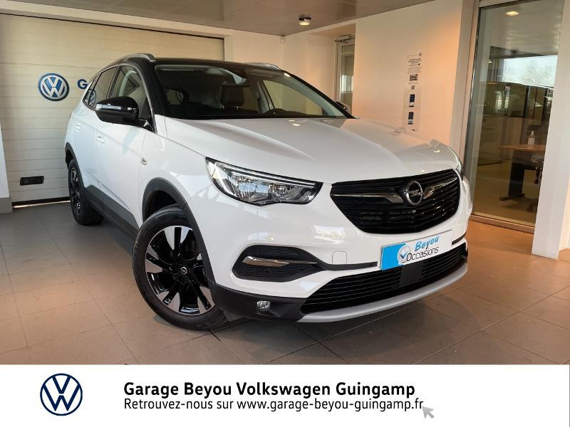 Opel Grandland X 1.5 D 130ch Design Line Diesel Blanc Occasion à vendre