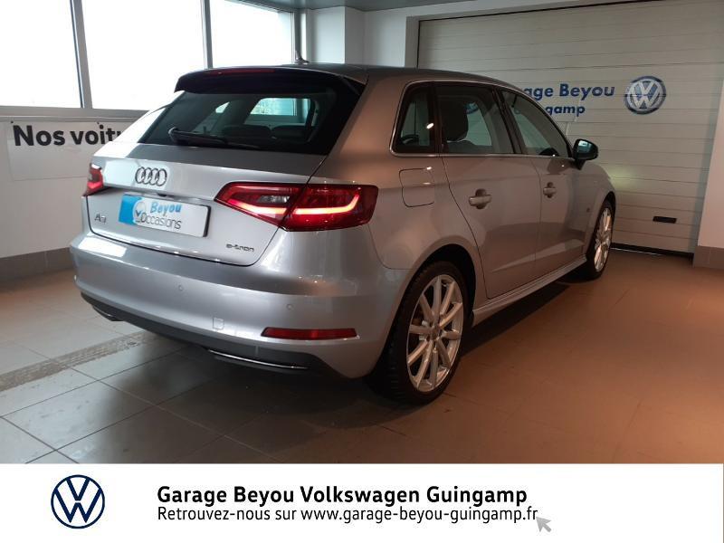 Photo 4 de l'offre de AUDI A3 Sportback 1.4 TFSI 204ch e-tron Ambition Luxe S tronic 6 à 21990€ chez Garage Beyou - Volkswagen Guingamp