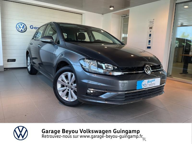 Volkswagen Golf 1.6 TDI 115ch BlueMotion Technology FAP Confortline Business 5p Diesel GRIS INDIUM Occasion à vendre