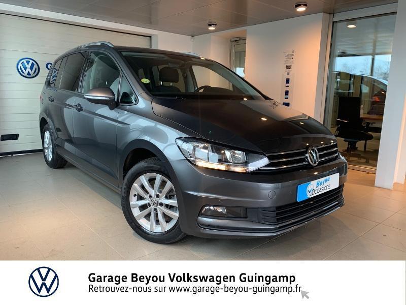 Volkswagen Touran 1.6 TDI 115ch BlueMotion Technology FAP Confortline Business DSG7 7 places Diesel Gris Indium Occasion à vendre