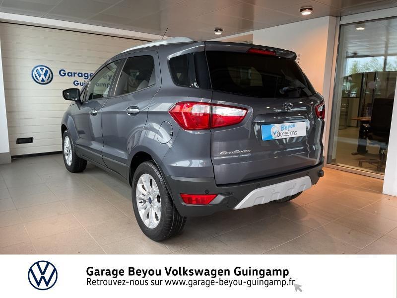 Photo 3 de l'offre de FORD EcoSport 1.5 TDCi 95ch FAP Titanium à 10990€ chez Garage Beyou - Volkswagen Guingamp