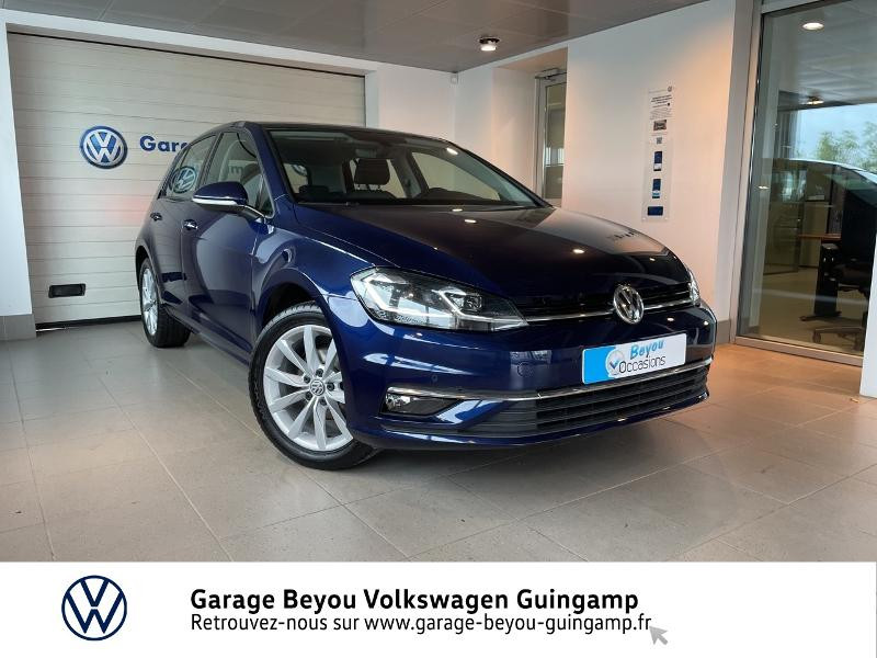 Volkswagen Golf 1.0 TSI 110ch BlueMotion Technology Confortline DSG7 5p Essence Bleu Atlantique Métal Occasion à vendre