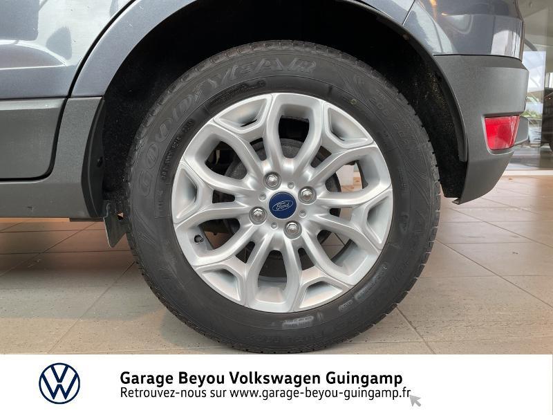 Photo 16 de l'offre de FORD EcoSport 1.5 TDCi 95ch FAP Titanium à 10990€ chez Garage Beyou - Volkswagen Guingamp
