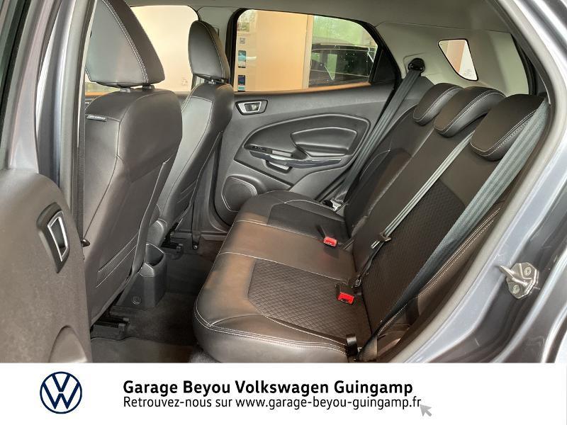 Photo 11 de l'offre de FORD EcoSport 1.5 TDCi 95ch FAP Titanium à 10990€ chez Garage Beyou - Volkswagen Guingamp
