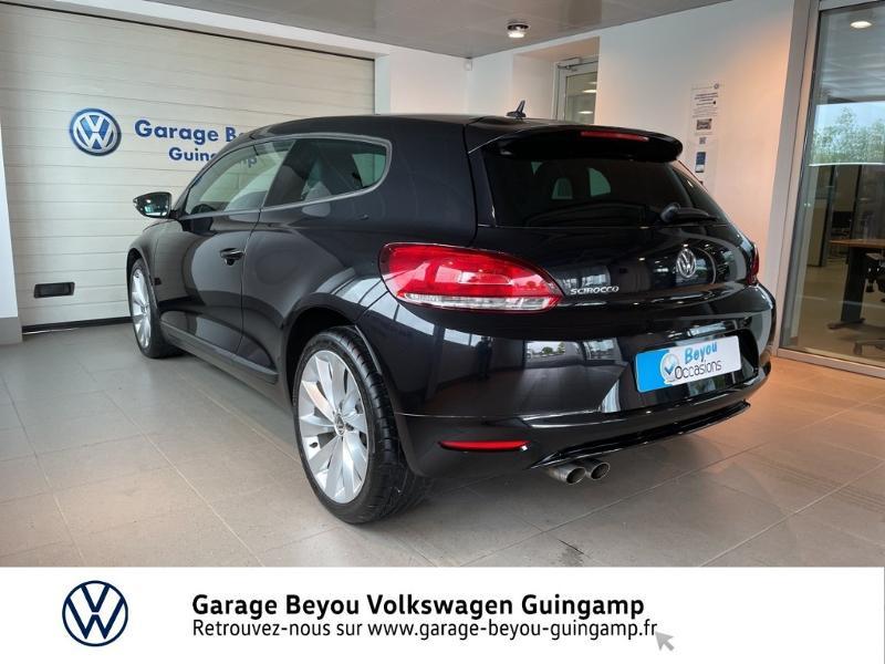 Photo 3 de l'offre de VOLKSWAGEN Scirocco 1.4 TSI 160ch à 10990€ chez Garage Beyou - Volkswagen Guingamp