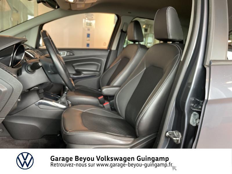 Photo 20 de l'offre de FORD EcoSport 1.5 TDCi 95ch FAP Titanium à 10990€ chez Garage Beyou - Volkswagen Guingamp