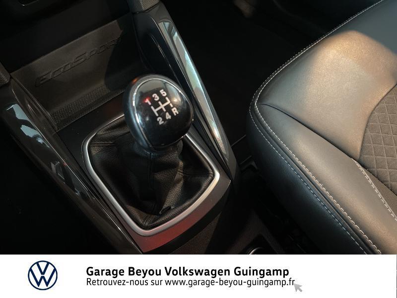 Photo 10 de l'offre de FORD EcoSport 1.5 TDCi 95ch FAP Titanium à 10990€ chez Garage Beyou - Volkswagen Guingamp