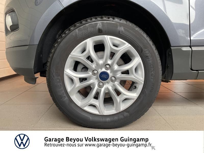 Photo 15 de l'offre de FORD EcoSport 1.5 TDCi 95ch FAP Titanium à 10990€ chez Garage Beyou - Volkswagen Guingamp