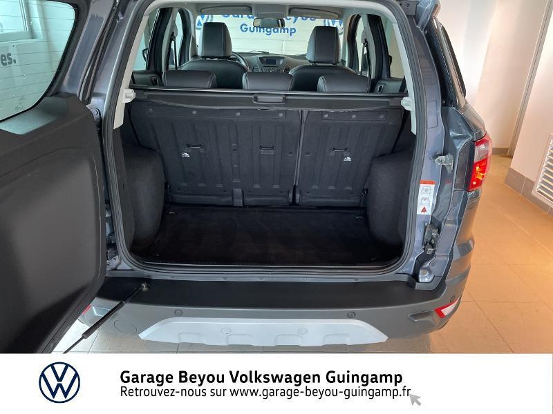 Photo 12 de l'offre de FORD EcoSport 1.5 TDCi 95ch FAP Titanium à 10990€ chez Garage Beyou - Volkswagen Guingamp