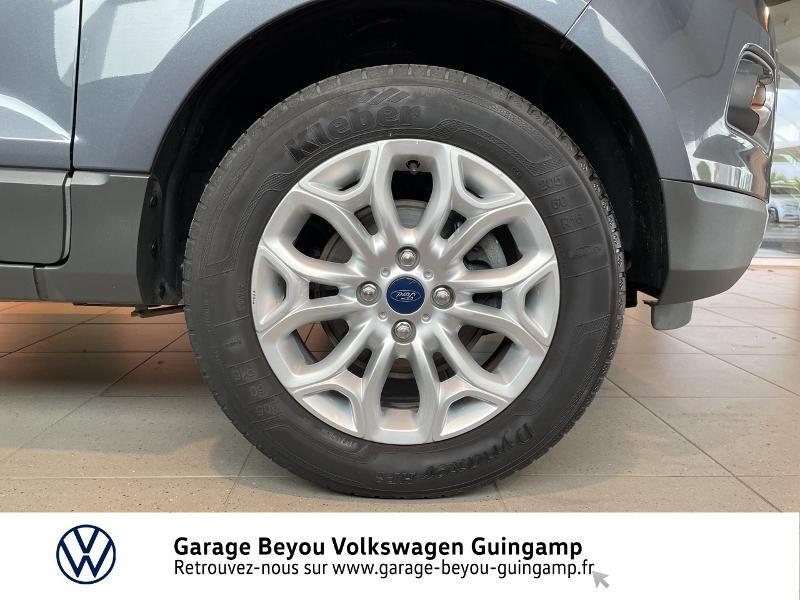 Photo 13 de l'offre de FORD EcoSport 1.5 TDCi 95ch FAP Titanium à 10990€ chez Garage Beyou - Volkswagen Guingamp