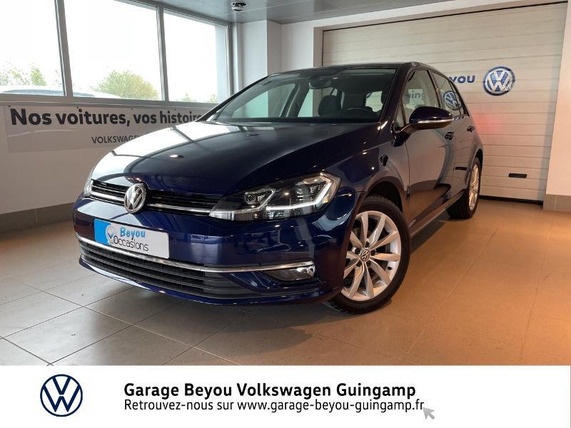 Photo 2 de l'offre de VOLKSWAGEN Golf 1.0 TSI 110ch BlueMotion Technology Confortline DSG7 5p à 17490€ chez Garage Beyou - Volkswagen Guingamp
