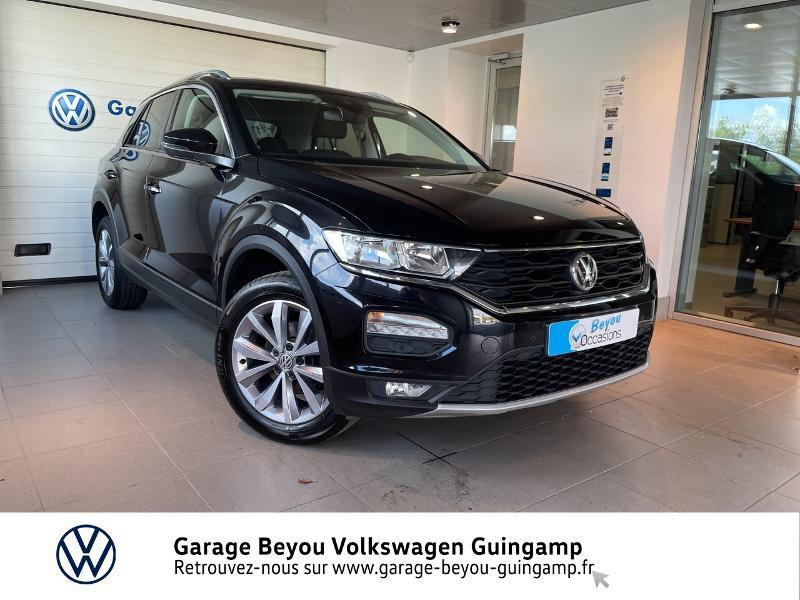 Volkswagen T-Roc 1.6 TDI 115ch Lounge Euro6d-T Diesel NOIR INTENSE Occasion à vendre