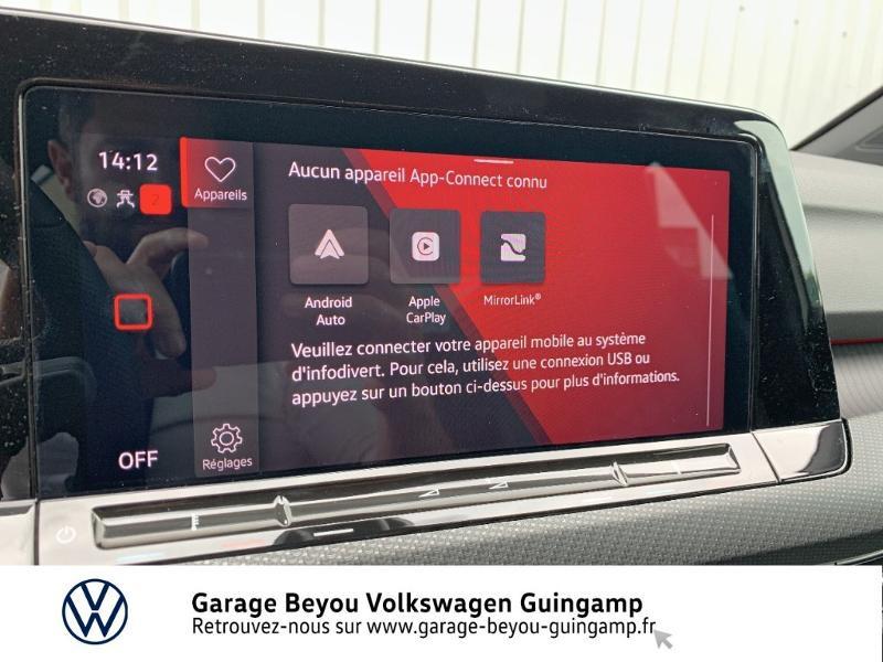 Photo 19 de l'offre de VOLKSWAGEN Golf 1.5 TSI OPF 130ch R-Line BVM6 à 26990€ chez Garage Beyou - Volkswagen Guingamp
