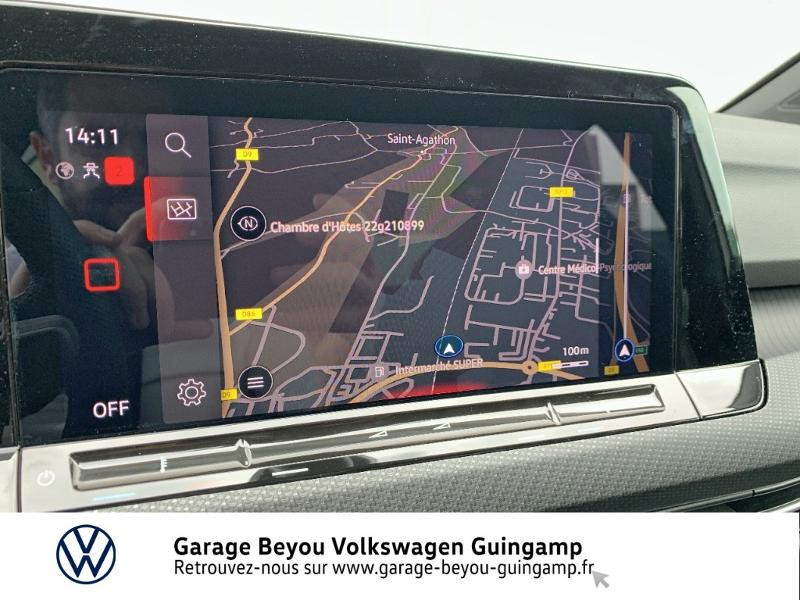Photo 8 de l'offre de VOLKSWAGEN Golf 1.5 TSI OPF 130ch R-Line BVM6 à 26990€ chez Garage Beyou - Volkswagen Guingamp