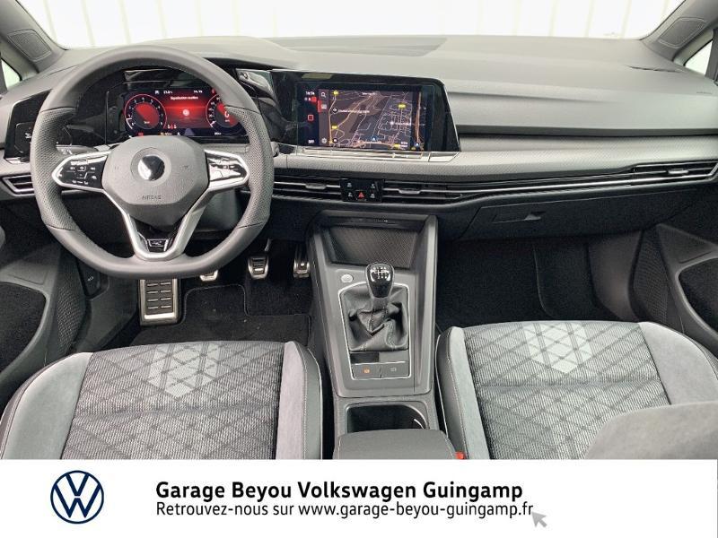 Photo 6 de l'offre de VOLKSWAGEN Golf 1.5 TSI OPF 130ch R-Line BVM6 à 26990€ chez Garage Beyou - Volkswagen Guingamp
