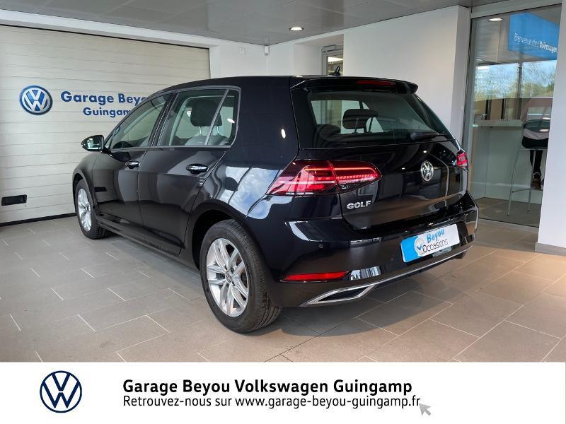 Photo 3 de l'offre de VOLKSWAGEN Golf 2.0 TDI 150ch FAP Carat DSG7 5p à 22990€ chez Garage Beyou - Volkswagen Guingamp