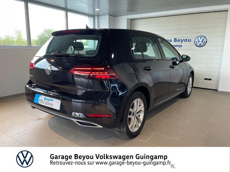 Photo 4 de l'offre de VOLKSWAGEN Golf 2.0 TDI 150ch FAP Carat DSG7 5p à 22990€ chez Garage Beyou - Volkswagen Guingamp