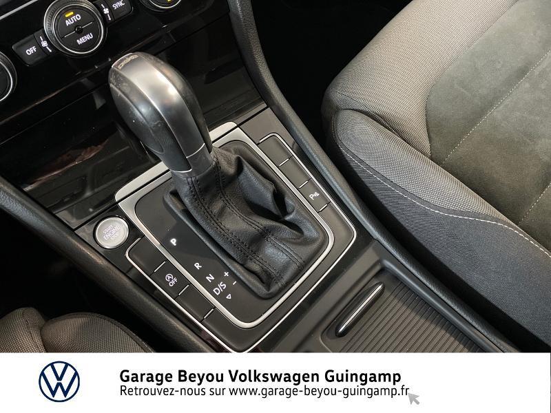Photo 10 de l'offre de VOLKSWAGEN Golf 2.0 TDI 150ch FAP Carat DSG7 5p à 22990€ chez Garage Beyou - Volkswagen Guingamp
