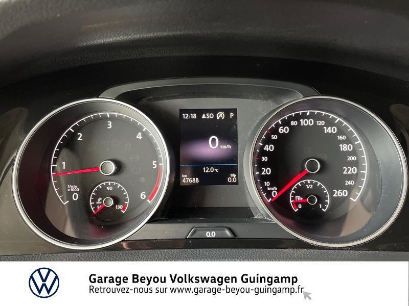 Photo 9 de l'offre de VOLKSWAGEN Golf 2.0 TDI 150ch FAP Carat DSG7 5p à 22990€ chez Garage Beyou - Volkswagen Guingamp