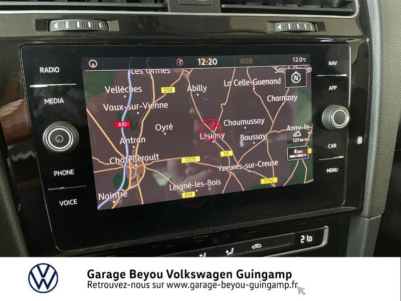 Photo 8 de l'offre de VOLKSWAGEN Golf 2.0 TDI 150ch FAP Carat DSG7 5p à 22990€ chez Garage Beyou - Volkswagen Guingamp