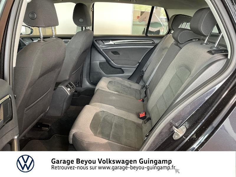 Photo 11 de l'offre de VOLKSWAGEN Golf 2.0 TDI 150ch FAP Carat DSG7 5p à 22990€ chez Garage Beyou - Volkswagen Guingamp