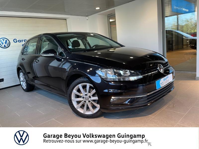 Volkswagen Golf 1.6 TDI 115ch BlueMotion Technology FAP First Edition DSG7 5p Diesel Noir intense Nacré Occasion à vendre