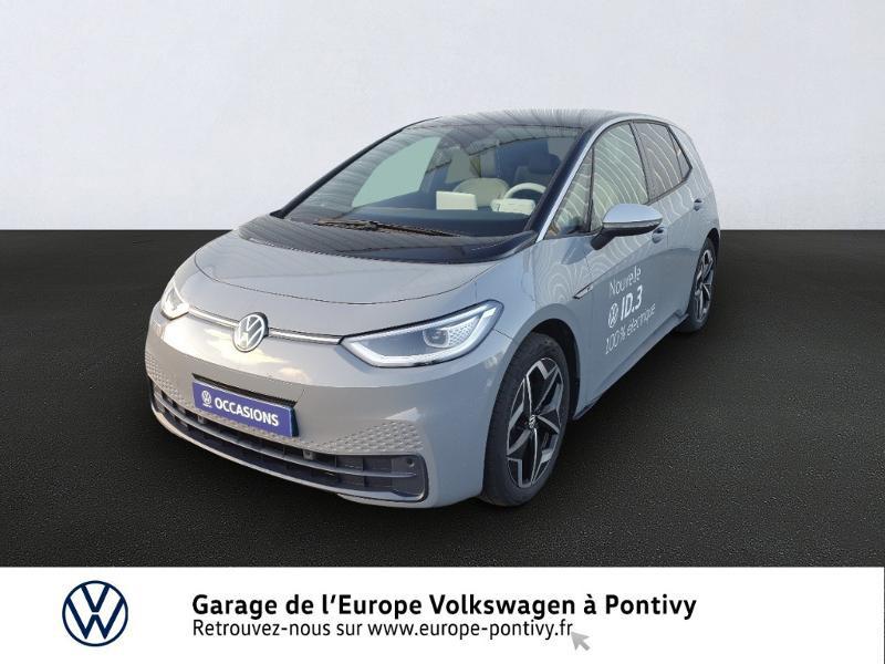 Photo 1 de l'offre de VOLKSWAGEN ID.3 204ch 1st Plus à 37990€ chez Garage de L'Europe - Volkswagen Pontivy