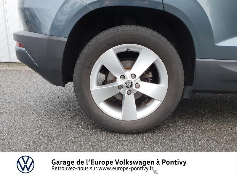Photo 14 de l'offre de SKODA Karoq 2.0 TDI 150ch SCR Business 4x4 DSG à 25490€ chez Garage de L'Europe - Volkswagen Pontivy