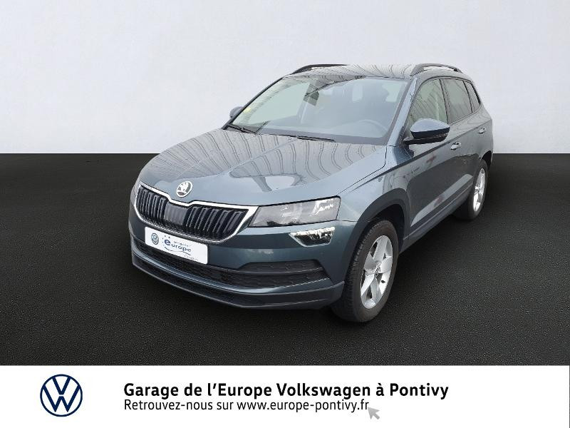 Photo 1 de l'offre de SKODA Karoq 2.0 TDI 150ch SCR Business 4x4 DSG à 25490€ chez Garage de L'Europe - Volkswagen Pontivy