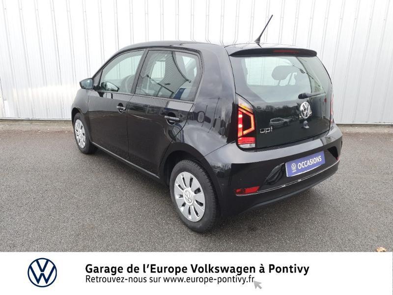 Photo 3 de l'offre de VOLKSWAGEN up! 1.0 60ch BlueMotion Technology Move up! 5p à 8480€ chez Garage de L'Europe - Volkswagen Pontivy