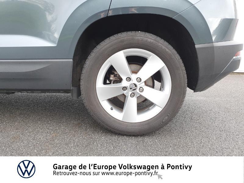 Photo 15 de l'offre de SKODA Karoq 2.0 TDI 150ch SCR Business 4x4 DSG à 25490€ chez Garage de L'Europe - Volkswagen Pontivy