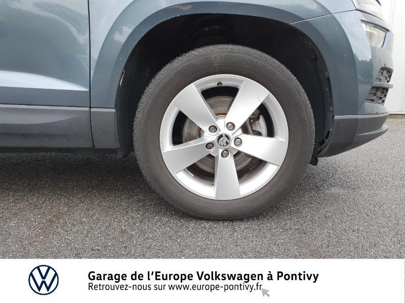 Photo 13 de l'offre de SKODA Karoq 2.0 TDI 150ch SCR Business 4x4 DSG à 25490€ chez Garage de L'Europe - Volkswagen Pontivy