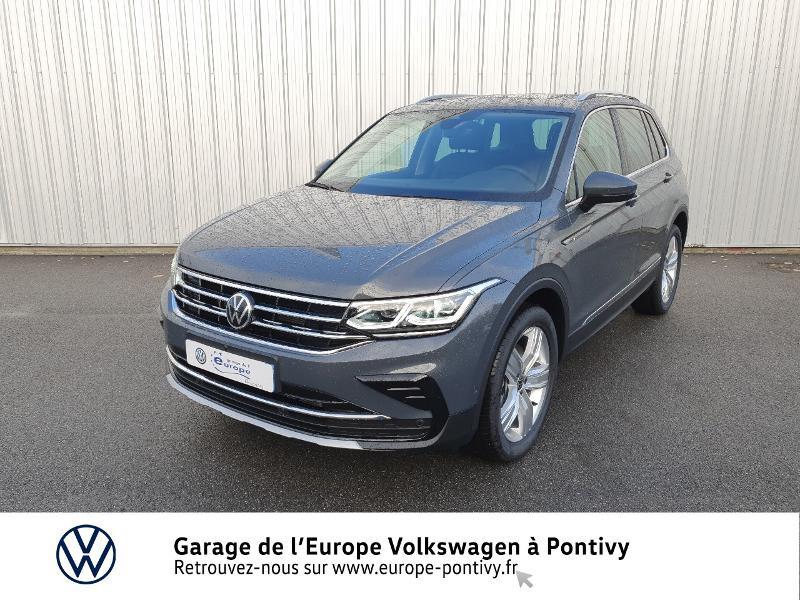 Photo 1 de l'offre de VOLKSWAGEN Tiguan 2.0 TDI 200ch Elegance 4Motion DSG7 à 46900€ chez Garage de L'Europe - Volkswagen Pontivy