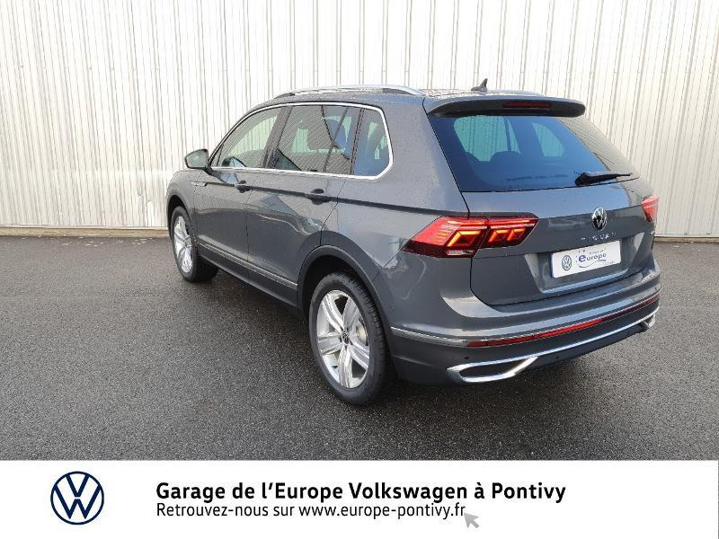 Photo 3 de l'offre de VOLKSWAGEN Tiguan 2.0 TDI 200ch Elegance 4Motion DSG7 à 46900€ chez Garage de L'Europe - Volkswagen Pontivy