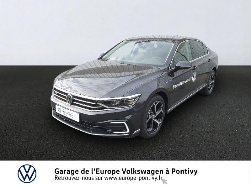 Photo 1 de l'offre de VOLKSWAGEN Passat 1.4 TSI 218ch Hybride Rechargeable GTE DSG6 à 33990€ chez Garage de L'Europe - Volkswagen Pontivy