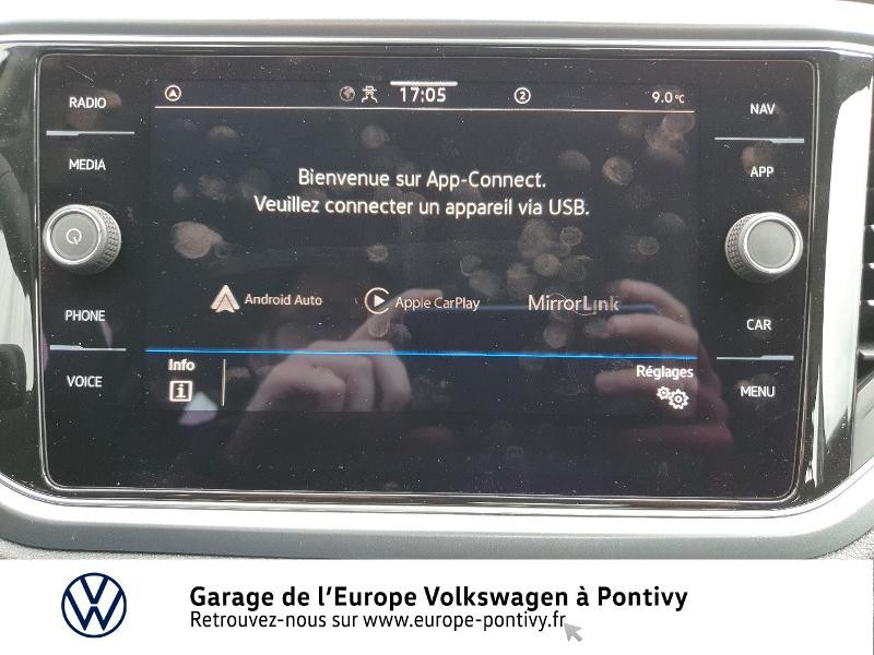 Photo 8 de l'offre de VOLKSWAGEN T-Roc 2.0 TDI 115ch Active S&S à 28990€ chez Garage de L'Europe - Volkswagen Pontivy