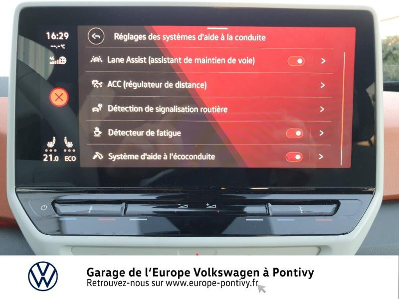 Photo 17 de l'offre de VOLKSWAGEN ID.3 204ch 1st Plus à 37990€ chez Garage de L'Europe - Volkswagen Pontivy