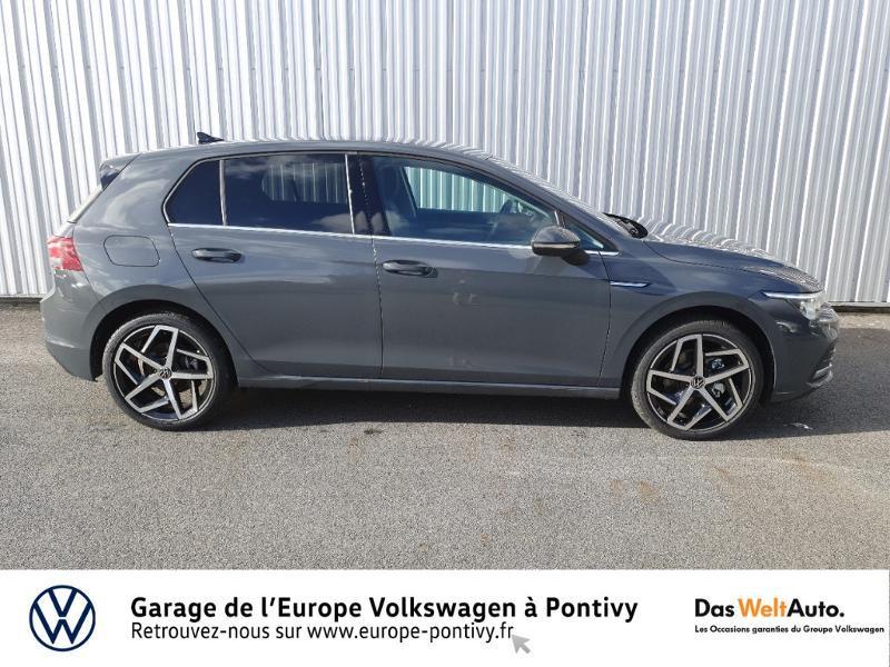 Photo 4 de l'offre de VOLKSWAGEN Golf 2.0 TDI SCR 150ch Style 1st DSG7 à 35755€ chez Garage de L'Europe - Volkswagen Pontivy