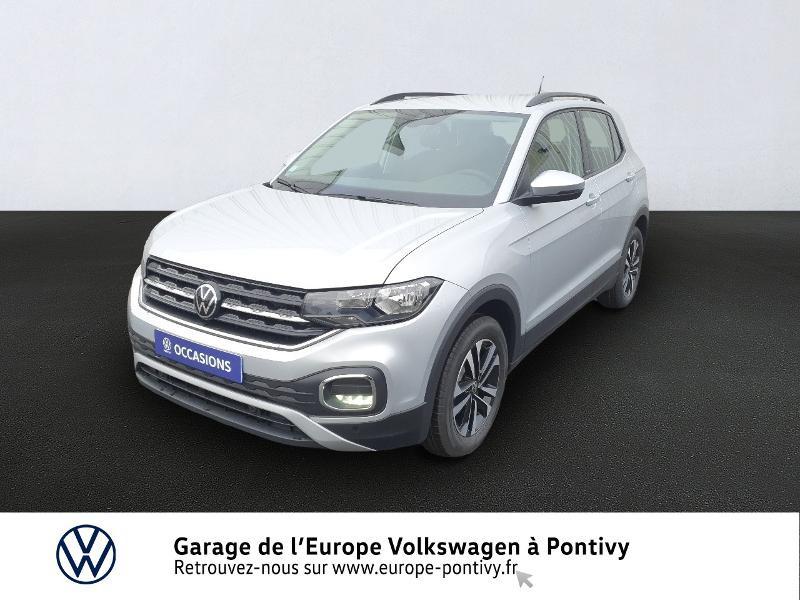 Volkswagen T-Cross 1.0 TSI 110ch United DSG7 Essence REFLET D'ARGENT METAL Occasion à vendre